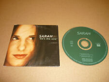 *SARAH CD SINGLE HOLLAND HE'S THE ONE