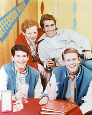 Happy Days Early Pose Fonzie,Richie,Potsie,Ralph Arnolds Diner 11x17 Mini Poster