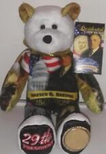 Warren G. Harding Dollar Coin bear #29 in series by Limited Treasures
