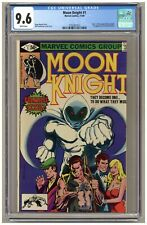 Moon Knight #1 (CGC 9.6) Origin part 1; 1st app Raoul Bushman; Marvel; 1980 B566