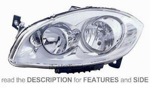LHD Headlight Fiat Linea 2007 Right Side 51826738