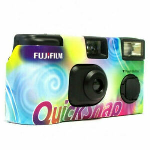 Fujifilm QuickSnap 400 -  Disposable / Single Use Film Camera with Flash