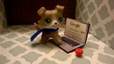 littlest Pet Shop miniature laptop and boy accessories (Pet Not Included)