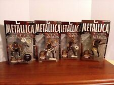 Spawn Metallica Harvester of Sorrow Action Figures Complete Set of 4 Sealed
