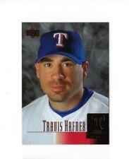 2001 TRAVIS HAFNER UPPER DECK #286 STAR ROOKIE BASEBALL CARD NRMT UD RC