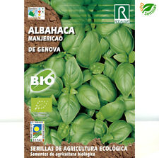 Albahaca de Genova Ecológica 5 g / 3.000 semillas ( Ocimum basilicum ) seeds Eco