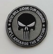 NEW THE PUNISHER SF / SEALS skull   Patch