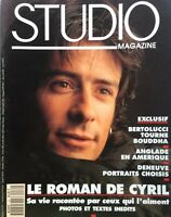 LE ROMAN DE CYRIL April 1993 FRENCH STUDIO Magazine BERTOLUCCI / DENEUVE / +++