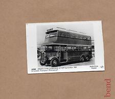 Greenline Double Decker LT1137 1931 Modern card old image RPbr2