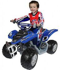 Yamaha Raptor ATV 12-Volt Battery-Powered Ride-On KIDS BOYS 4 WHEELER BLUE NEW