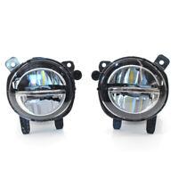 Pair LED Fog Light Lamps for BMW 3 Series F30 F35 LCI 320i 328d 330e 16-18