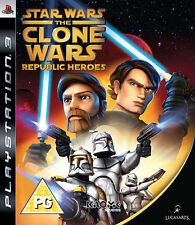 Star Wars: The Clone Wars Republic Heroes PS3 * En Excelente Estado *