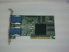Scheda Grafica Matrox g45 + MDHA 32db AGP AGP 975-0201 Rev. a testato