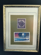 A Memento For Your Favorite World War Ii Vet * Framed World War Ii Stamps *