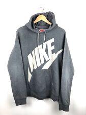 Vintage Nike Spell Out Hoodie USA Bright Bold Urban Sweater Sweatshirt Mens XL