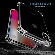 For iPhone X 6S 7 8 Plus 5 Case Shock Proof Hybrid Clear Heavy Duty Cover
