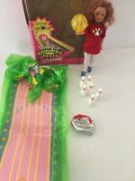 1998 MATTEL Barbie WHITNEY BOWLING PARTY DOLL WITH ACCESSORIES and box