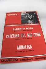 SC16 SPARTITO Caterina del mio cuor- Annalisa (Alberto Rota) dal film Novecento