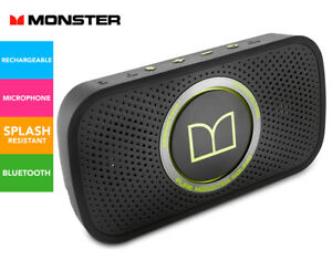Monster SuperStar Bluetooth Speaker, The world's Smallest Audiophile speaker