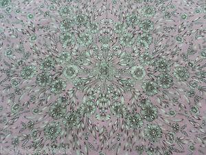 Liberty Tana Lawn Cotton Fabric LADY ZADIE (B) 3.65m Dusky Pink Design - 365cm