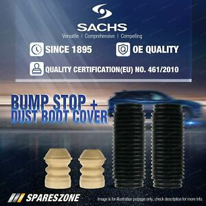 2 x Front Sachs Bump Stop + Dust Cover Kit for Hyundai Tucson City JM V6 Wagon