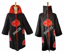 Naruto Akatsuki Uchiha Itachi Cosplay costume Cloak Uchiha Madara Sasuke Robe