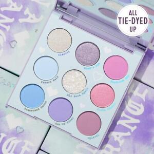 Colourpop In A Trance 9 Eyeshadow Palette 💙 Sky Blue 🔮 Soft Violet Purple NIB