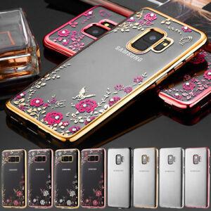 Case For Samsung Galaxy A3 A5 2017 A6 A8 2018 Silicone Clear Gel Phone Cover