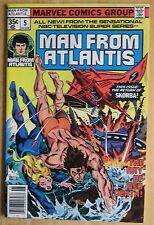 Marvel Comics, Man From Atlantis # 5 1978  Great Condition