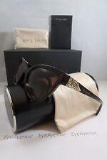 Bvlgari BV 8156-B 504/13 Dark Havana/Crystals New Authentic Sunglasses 54mm Box