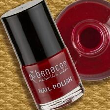 Benecos Nail Polish Cherry Red 9ml Nagellack ohne Formaldehyd Toluol Phthalate..