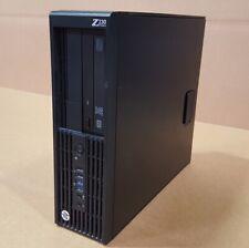 HP Z230 SFF Workstation i7-4770 3.40GHz 16GB RAM 256GB SSD Win10 Pro WIFI DVDRW