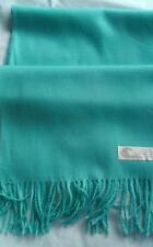 New Scarf Mint Green Soft Warm 160cm long bright Wool/polyester mix