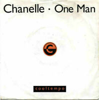 "Chanelle ‎– One Man Vinyl 7"" P/S Garage House Single UK COOL 183 1989"