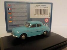 Oxford Diecast, Model Car, Birthday Cake, Renault Dauphine - Light Blue