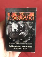 1 BOOSTER PACK - THE LAST CRUSADE - FROM NORMANDY TO THE RHINE - CARD GAME