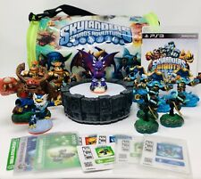 Skylanders Spyros Adventure Lot of 40 Characters Cards Stickers Portal Game Bag