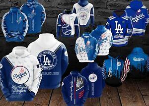 Los Angeles Dodgers - MLB Baseball - Baseball Sport Fan - 3D Pullover Hoodies