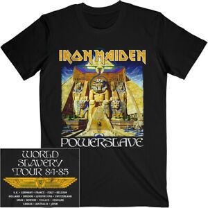 Iron Maiden Powerslave Album World Slavery Tour Shirt S-XXL Official T-shirt