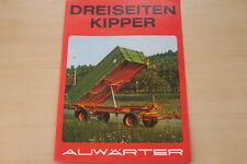 162856) Paul Auwärter 3-Seiten-Kipper Prospekt 197?