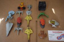 Vintage Galoob Micro Machines Lot Of 15 Star Wars Star Trek Space X-Wings Z-Bot