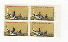 Independent Nation Papua New Guinean Stamp Blocks