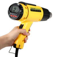 LODESTAR LCD Digital Hot Air Heat Gun Temperature Adjustable Nozzle 2000W AC220V