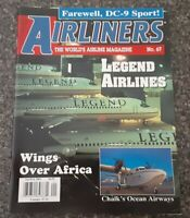AIRLINERS MAGAZINE - JAN 2001 - LEGEND, CHALKS, AFRICA, CONCORD - 80 PAGES