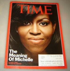 MICHELLE OBAMA ~~ Time Magazine ~~ June 1, 2009