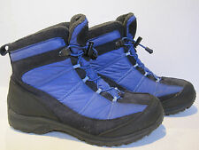 Lands End Women's Size 10 Blue Extreme Squall Winter Hiking Snow Boots