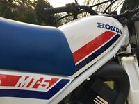 HONDA MT5 MT50X UK FROM NEW SHOW CONDITION SPORTS MOPED FROM FANTIC FS1E ERA 70s