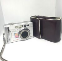 Vivitar ViviCam 8300S 8.1MP Digital Camera - Silver-Excellent,Original Case