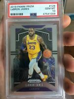 2019 Panini Prizm #129 LeBron James PSA 10 LAKERS