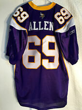 Reebok Authentic NFL Jersey Minnesota Vikings Allen Purple sz 50
